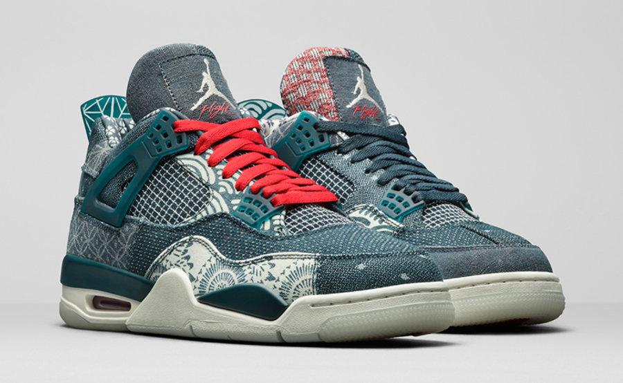 Air Jordan 4,AJ,AJ4,Sashiko,CW  别忘了它!细节能看花眼的「刺子绣」AJ4 发售日期来了!
