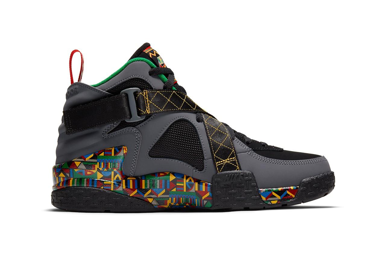 Nike,Air Raid,Urban Jungle Gy  超高辨识度新配色!这双 Air Raid 肯定能让你过目难忘!