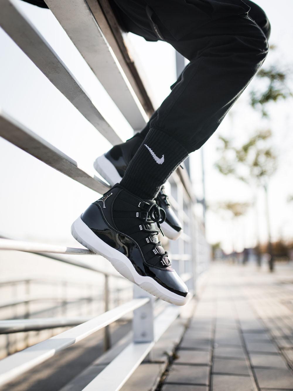 """CT8012-011,AJ11,Air Jordan 11 CT8012-011 官图 + 小编提前上脚!Air Jordan 11 """"大魔王 2.0"""" 即将发售"""