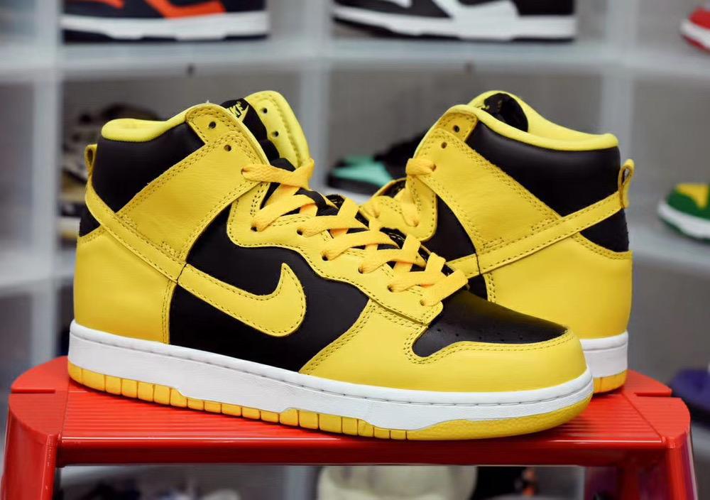 Nike,Dunk High,Varsity Maize,C  「小武当」Dunk High 下月发售!「影子 2.0」Dunk 首度曝光!