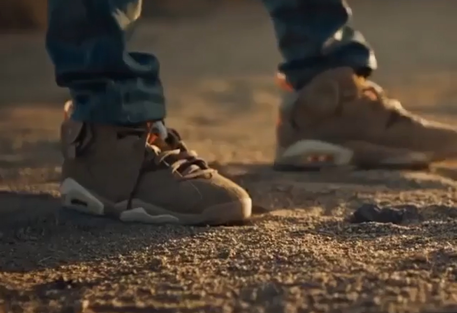 Travis Scott,Nike,AJ6  新配色 TS x AJ6 曝光!年底「王炸联名」又添一双!