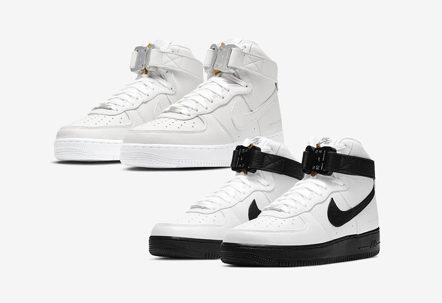 Nike,AF1,Air Force 1,CQ4018-10  市价¥6000 左右!第二波 ALYX x AF1 即将发售