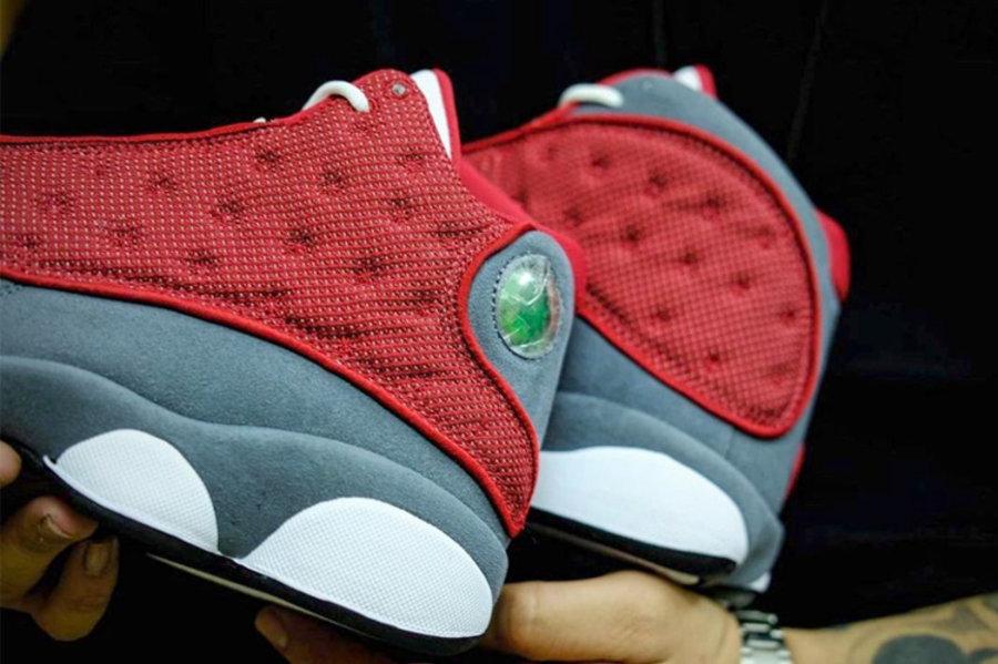 "Air Jordan 13,Red Flint,DJ5982  等了太久!红色 AJ13 ""Flint"" 发售日期终于曝光!"