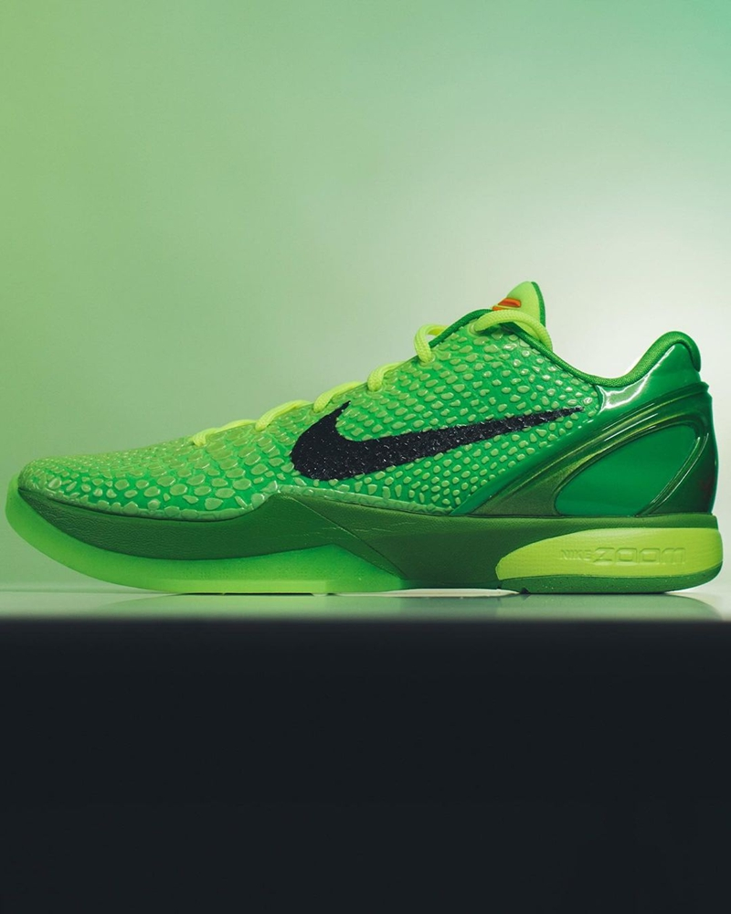 Nike,Kobe 6 Protro,CW2190-300  熟悉的圣诞节配色明年回归!Kobe 6 最新实物图曝光!