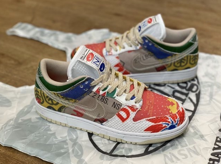 Nike,Dunk Low SP,Thank You For  有「What The」内味了!Dunk 全新配色曝光,明年登场!