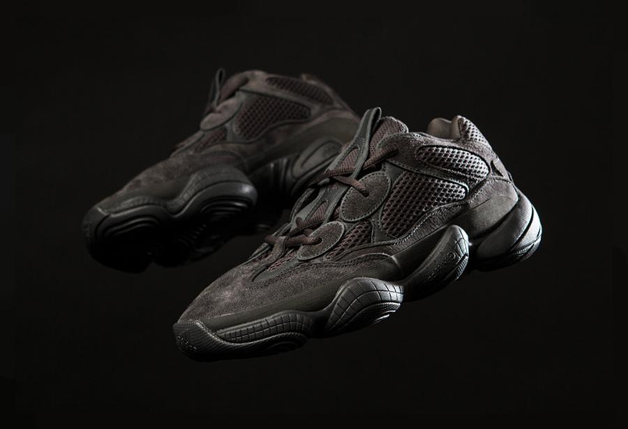 adidas,Yeezy,Yeezy 500,F36640,  纯黑 Yeezy 500 真补货了!刚刚开始登记抽签!