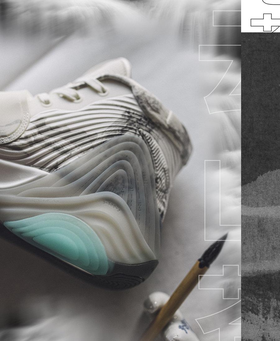KT6,安踏,发售  山水画主题!这才是有文化的中国风球鞋!周六发售!