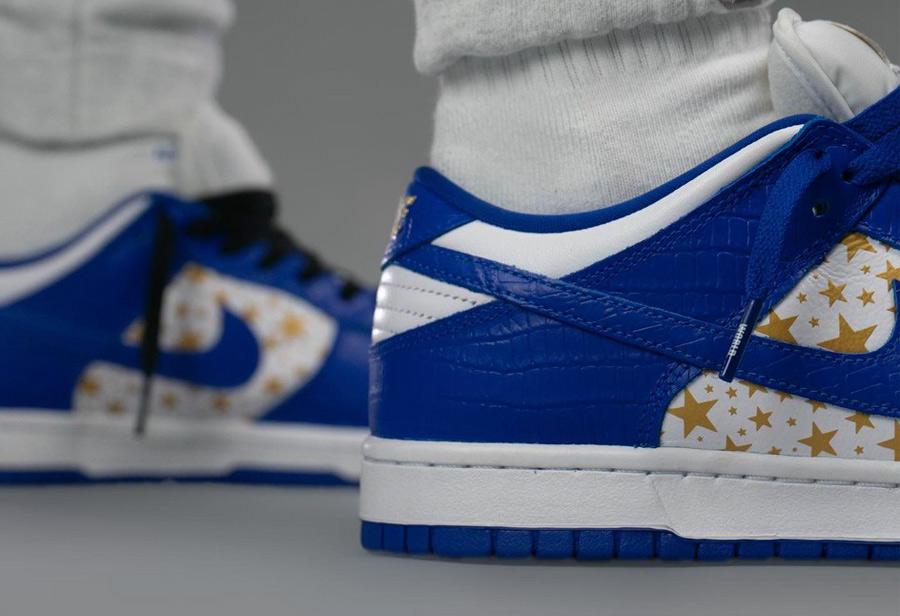 莆田鞋Supreme x Nike蓝白造型酷似小闪电!