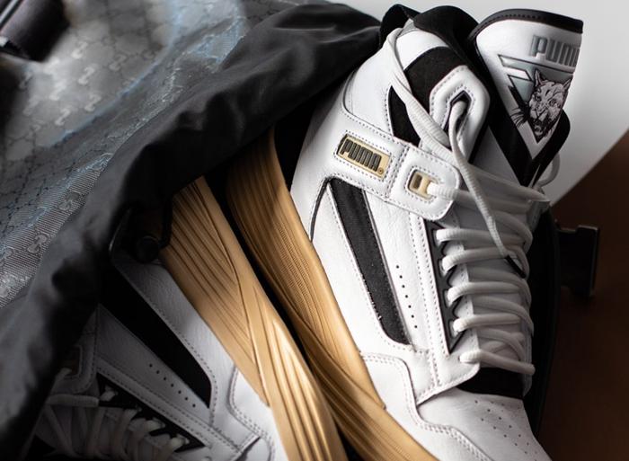 全新 莆田鞋PUMA 联名鞋现已登场!简约黑白的复古造型!
