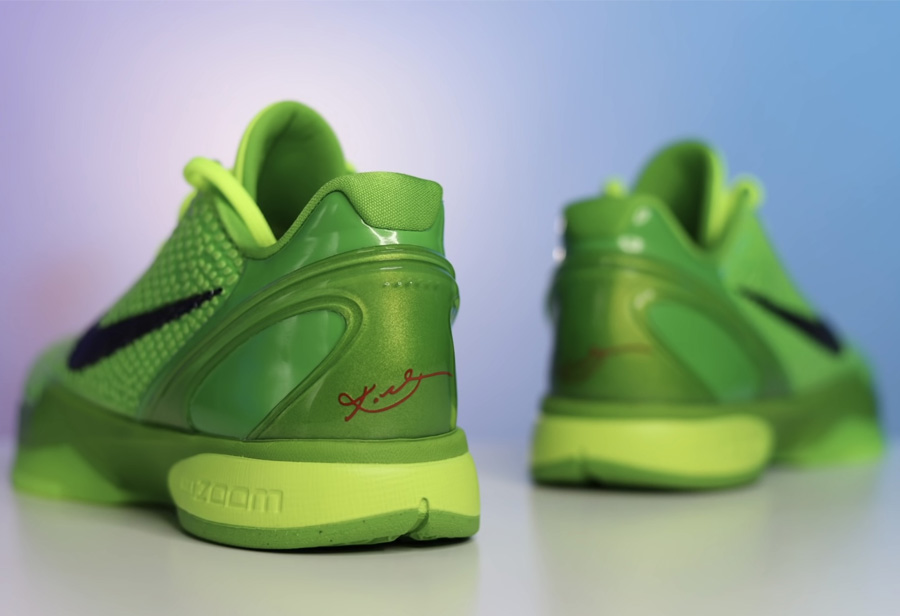 Nike,Kobe 6 Protro,Grinch,CW21  平安夜发售!青蜂侠 Kobe 6 更多细节曝光!