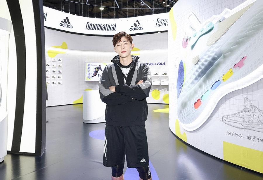 邓伦,adidas,INNERSCT,Harden Vol.  邓伦上脚哈登新战靴!上演登哥招牌必杀技!