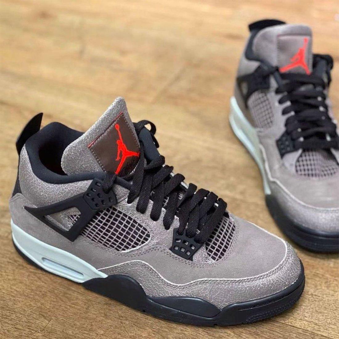 AJ4,Air Jordan 4,DB0732-200,發售  親友 TS 聯名的弟弟版本!全新 Air Jordan 4 下月發售!