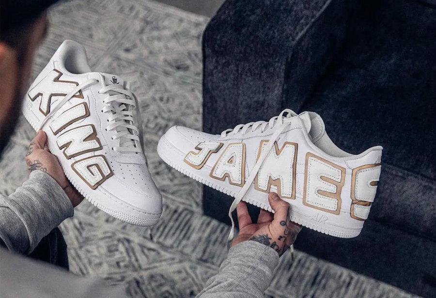 Nike,LeBron,AJ  這鞋才叫「極致奢華」!迪拜土豪都眼饞!詹姆斯想買也得等半年!