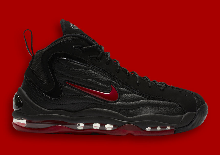 Air Total Max Uptempo,Nike, 發售  又一雙經典大氣墊回歸!黑紅 Nike Total Max Uptempo 即將發售