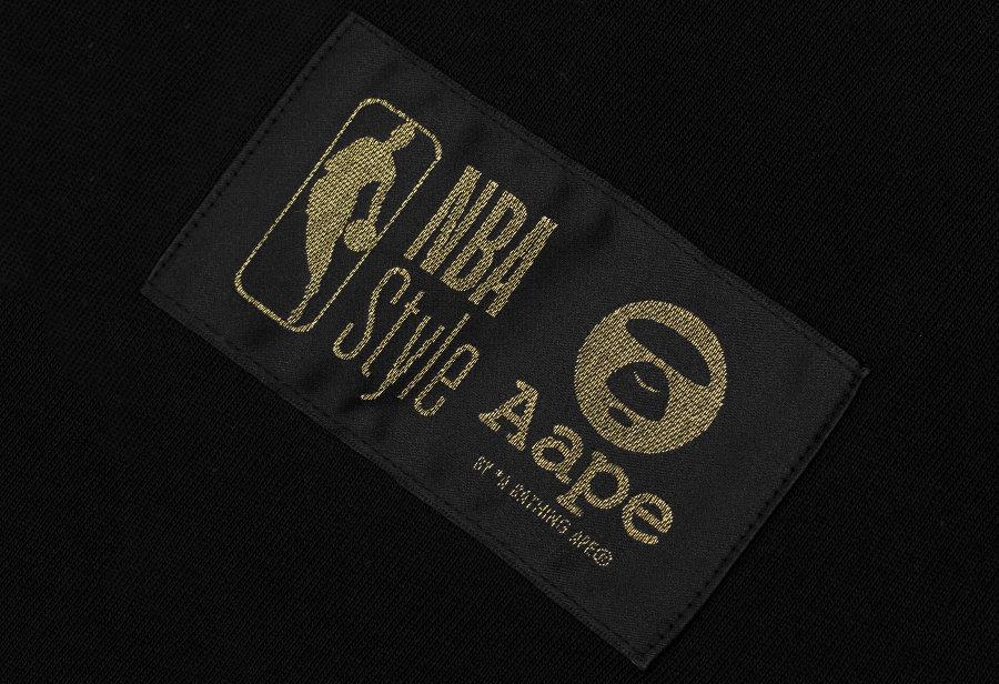 復古,Hip-Hop,造型,AAPE,攜手,NBA,推出,全  復古 Hip-Hop 造型!AAPE 攜手 NBA 推出全新聯名系列!