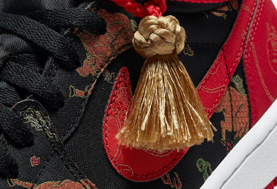 中国年 莆田鞋AJ1 Low 太喜庆了吧!特殊鞋盒还送红包!