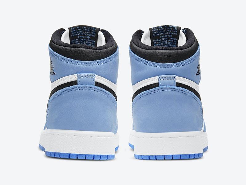 发售,555088-134,Air Jordan 1,AJ1  北卡 Air Jordan 1 上脚首次曝光!看完我就动心了!