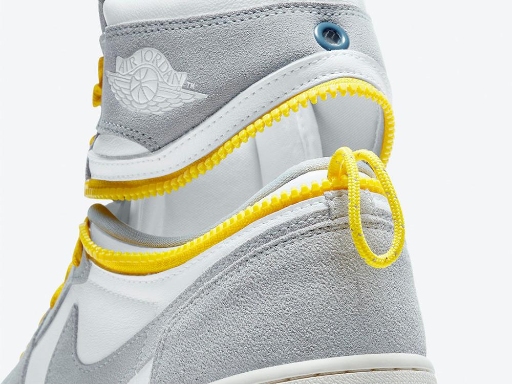 Air Jordan 1,High Switch,Light  拉鏈設計暗藏玄機!Air Jordan 1 又出新版本!