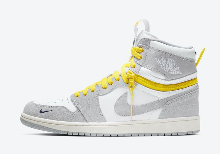 Air Jordan 1,High Switch,Light  拉链设计暗藏玄机!Air Jordan 1 又出新版本!