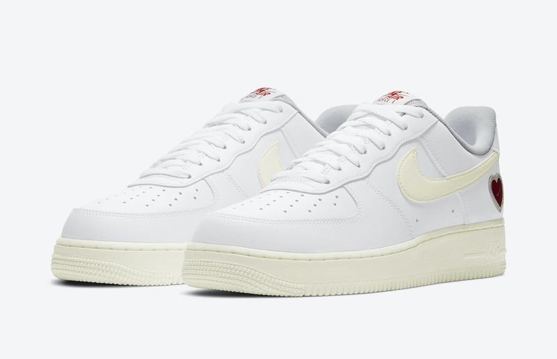Nike,Air Force 1,Valentine's D  簡約造型男女通吃!這雙情人節 AF1 你心動了嗎!