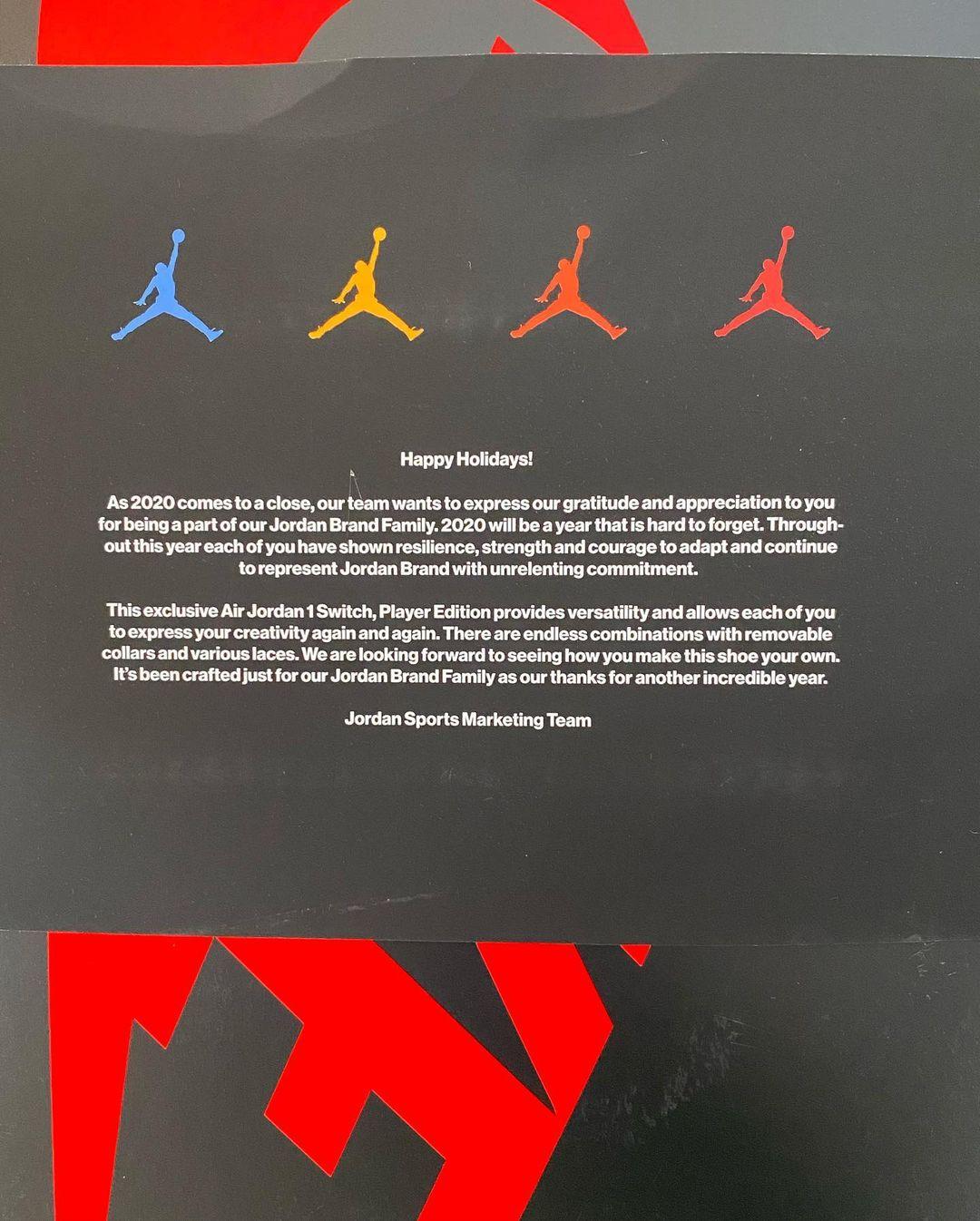 Air Jordan 1,AJ1,明星  能换四款配色!雷·阿伦晒全新黑脚趾 AJ1!这玩法有点厉害!