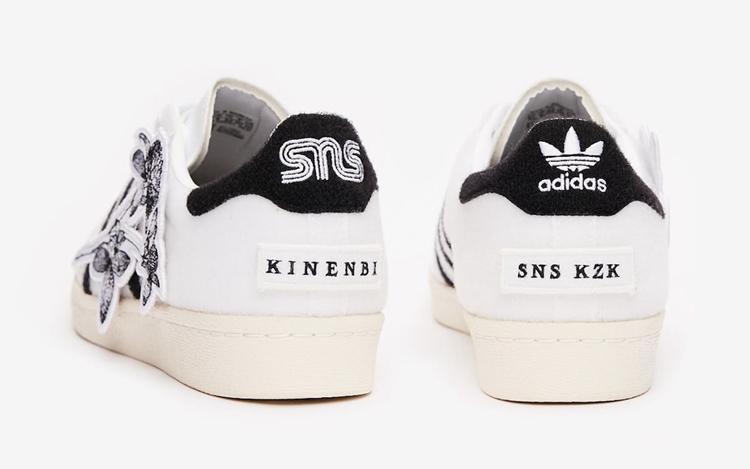 SNS,adidas Superstar,Kinenbi  鞋面自带魔术贴!adidas 全新联名系列曝光!