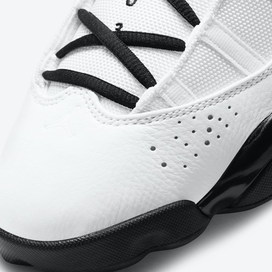 Jordan 6 Rings,Motorsport,DD50  简约黑白配色!这双 Jordan 6 Rings 新品你打几分?