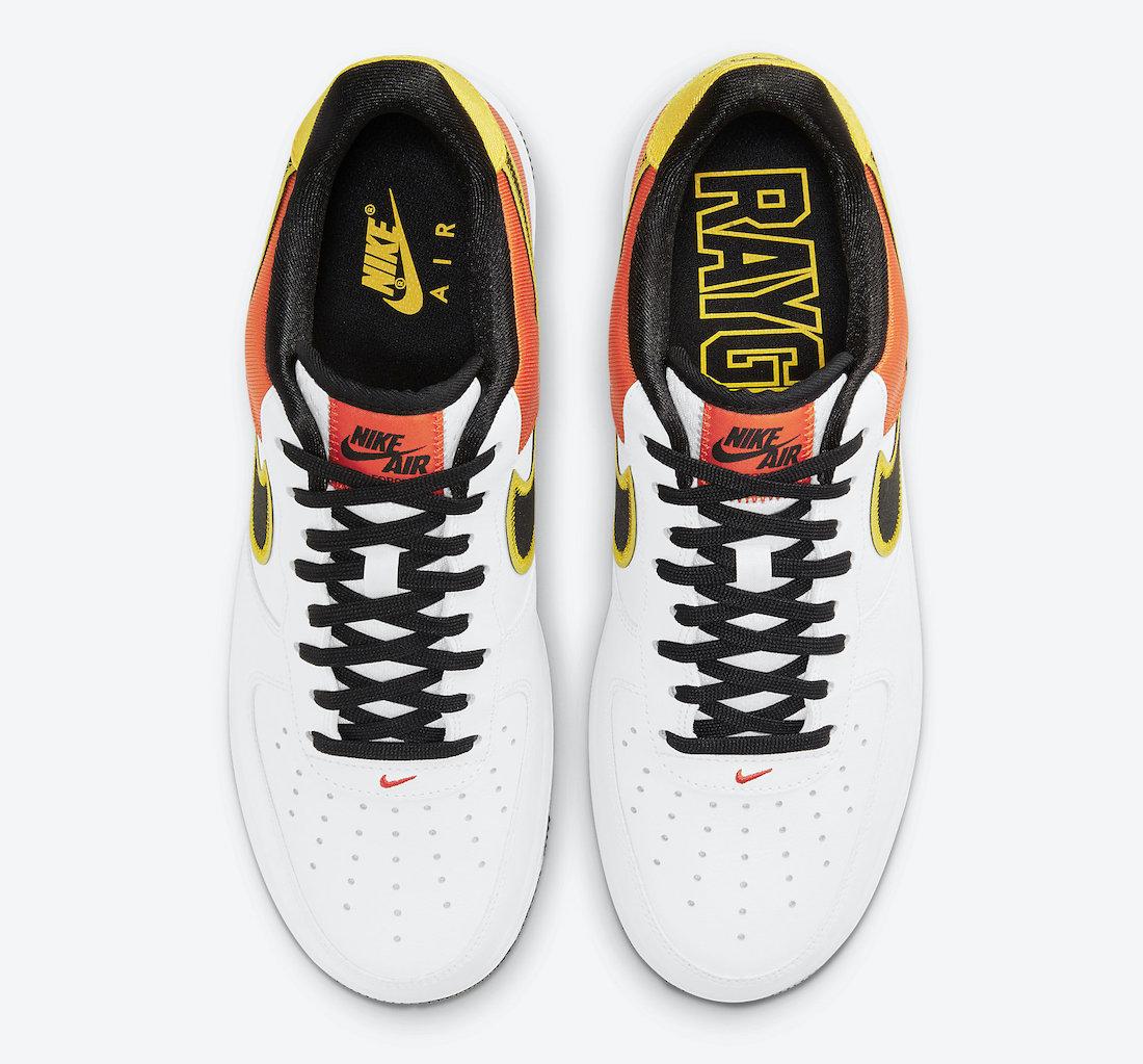 "Air Force 1,Nike,CU8070-100 整体配色与外星人 Dunk 极像 万元外星人 Dunk 同款配色!AF1 ""Raygun"" 即将发售 !"
