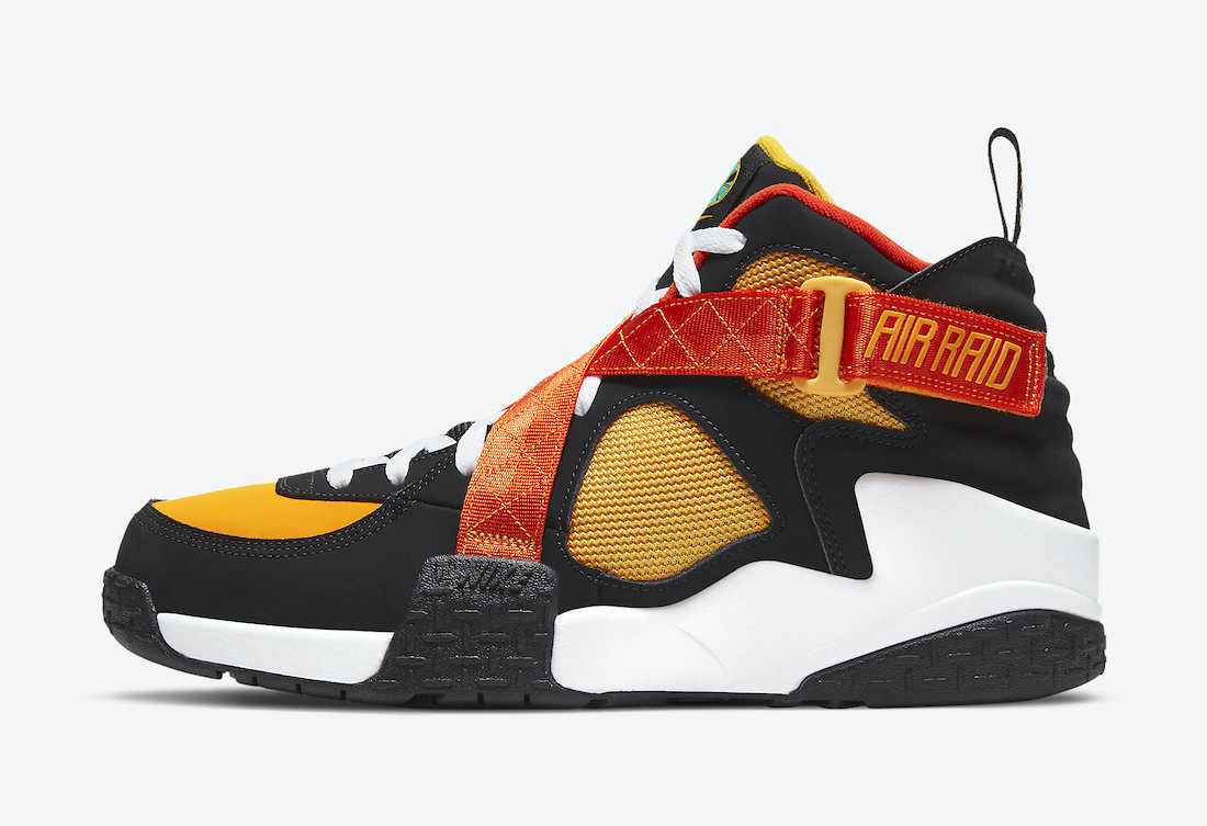 "Nike Air Raid,Nike,DD9222-001 即将发售 外星人系列隐藏鞋款!Nike Air Raid ""Raygun"" 即将发售!"