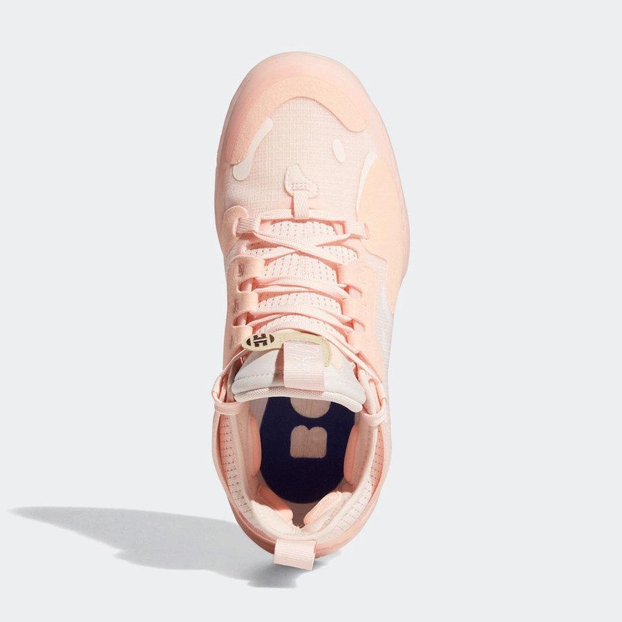 Harden Vol. 5,adidas,发售,FZ0834  曾经的超限量配色!樱花粉 Harden Vol. 5 刚刚正式发售