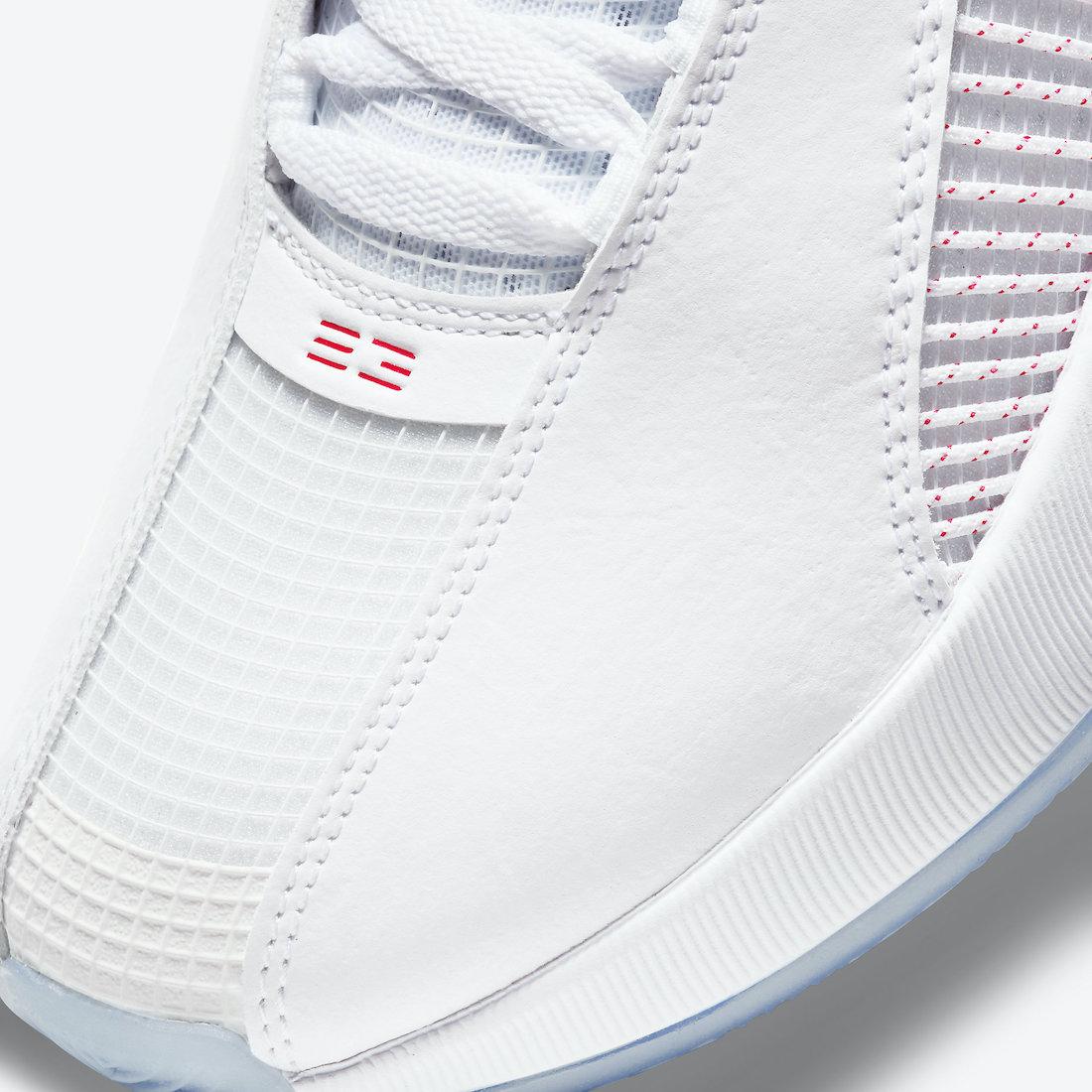 "Air Jordan 35,Jordan Brand,CQ4 将于近日发售 致敬流川枫配色!Air Jordan 35 ""Fire Red"" 官图释出!"
