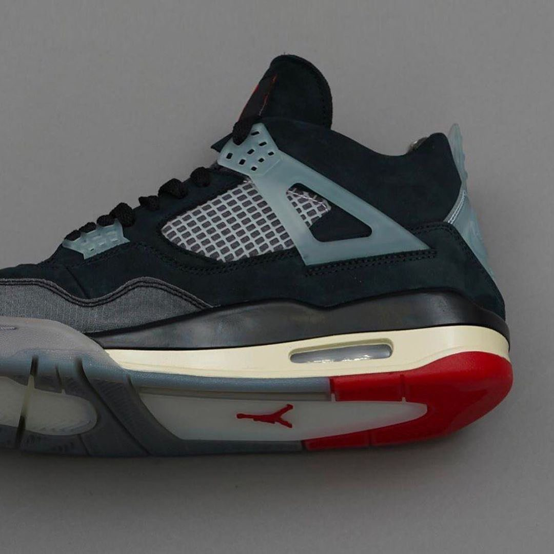 OFF-WHITE,Air Jordan 4,发售,AJ4  今年最后联名大招?!黑红 OW x AJ4 可能下周就要发!