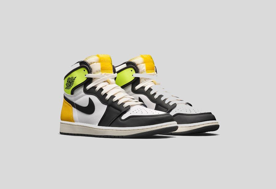 Air Jordan 1,Nike,555088-118 全新鞋舌设计 美区 SNKRS 预告!全新黑黄脚趾 Air Jordan 1 发售推迟!