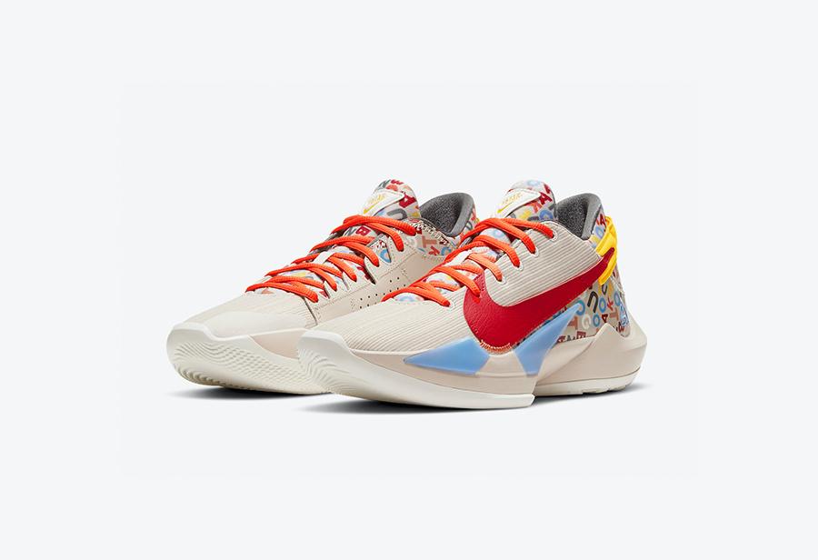 Zoom Freak 2,Nike,CW3162-001  未市售 PE 配色终于来了!全新 Zoom Freak 2 下月发售!