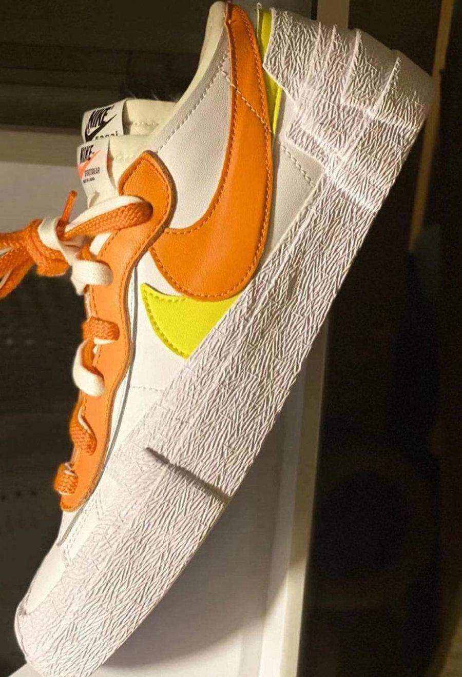sacai,Nike,Blazer Low,DD1877-1  sacai x Nike 又出全新联名!明年 2 月正式发售!