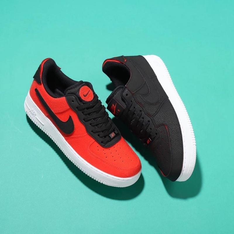 Nike,Air Force 1/1,DD2429-001  全新配色「撕撕乐」AF1!这造型像极了黑丝绸!