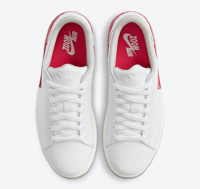 Air Jordan 1 Centre Court,DJ27  Jordan 超限量小白鞋又玩新花样!三款新配色曝光!
