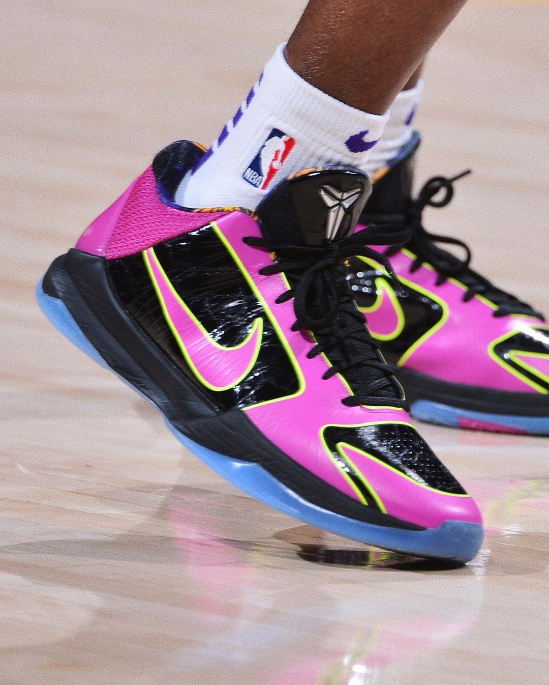 NBA,LeBron 18,Kobe 5 Protro,Ai  近日 NBA 球鞋上脚!科比战靴仍是赛场主角!