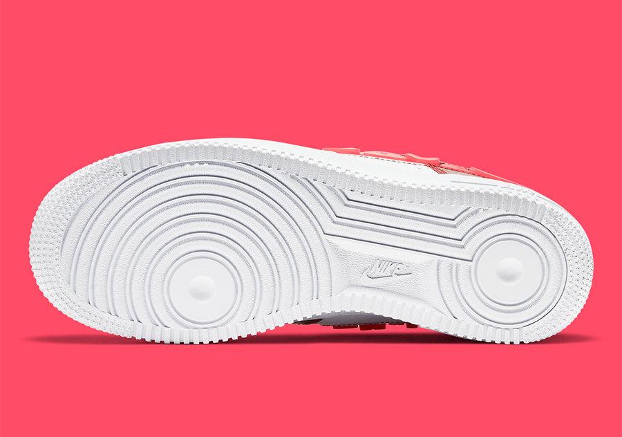 Air Force 1,AF1,Nike,发售,CV8482  又一款情人节配色?!这双 Air Force 1 设计够独特!