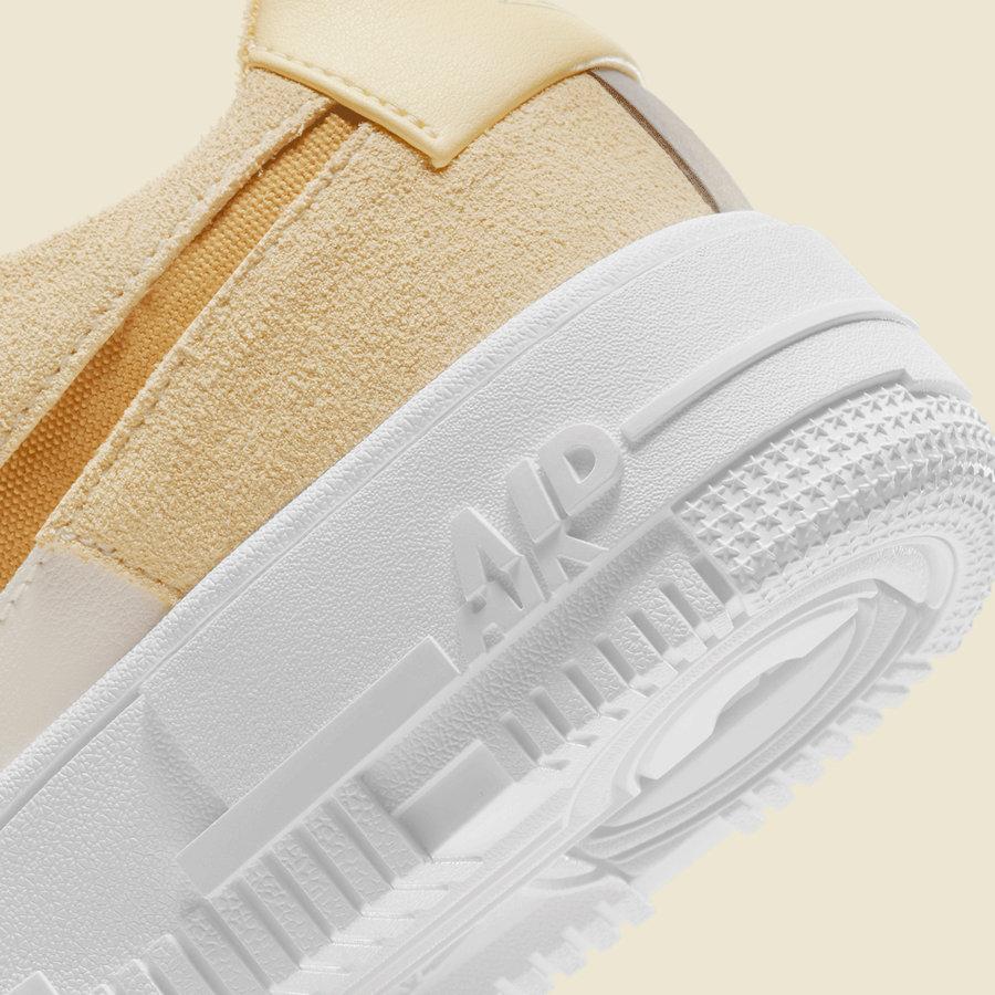 Nike,Air Force 1 Pixel,DH3856-  熟悉的解构装扮!这款 Air Force 1 又出全新配色!
