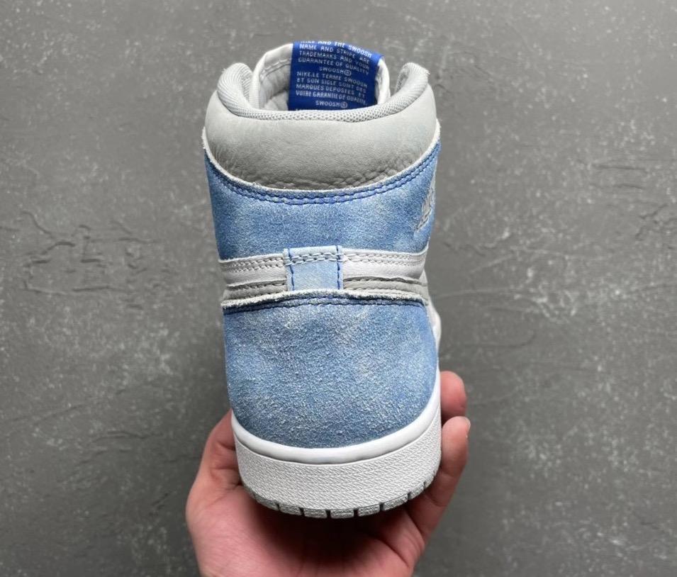 AJ1,Air Jordan 1,Hyper Royal,5  鞋身设计有点帅!水洗蓝 Air Jordan 1 四月正式发售!