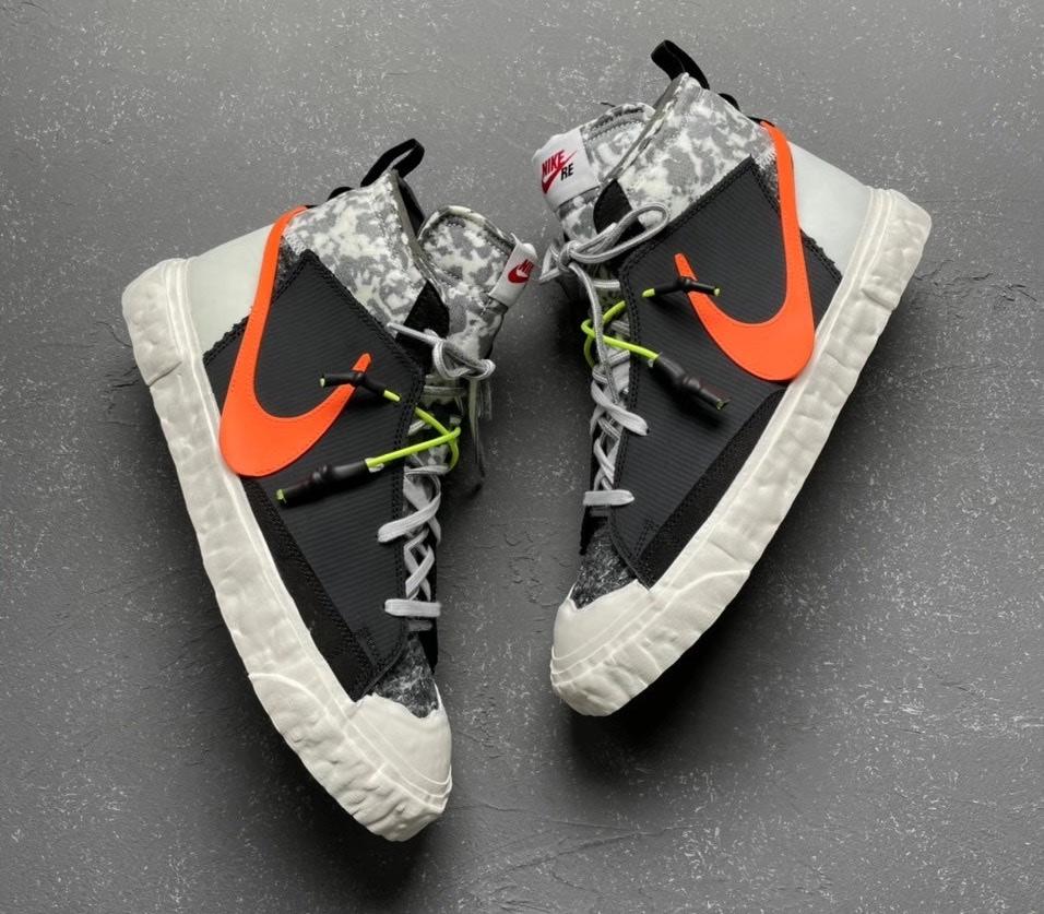 CZ3589-001,READYMADE,Blazer,Ni CZ3589-001 又能「花小钱买大牌」了!Nike Blazer 联名新鞋登场!