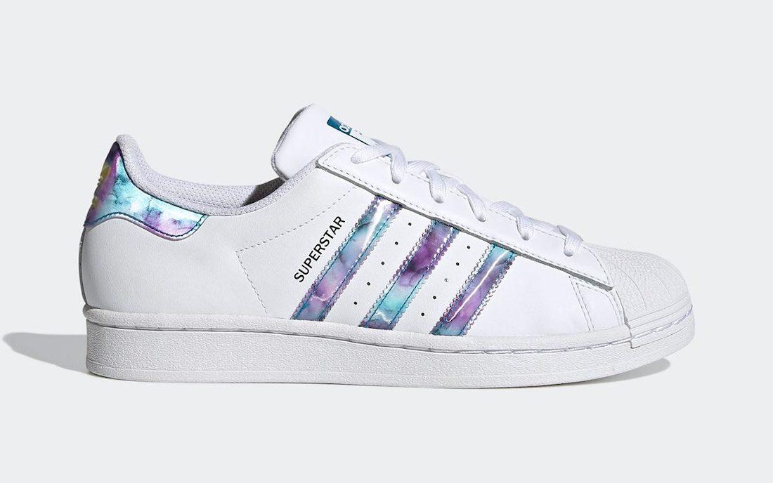 adidas,Superstar,Abalone,GZ521  镭射设计太吸睛!全新配色 adidas Superstar 现已正式发售!