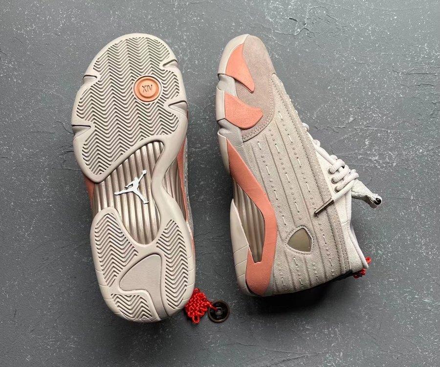 CLOT,AJ14,Air Jordan 14,DC9857  CLOT x AJ14 Low 惊喜设计确定!暗示春节发售?