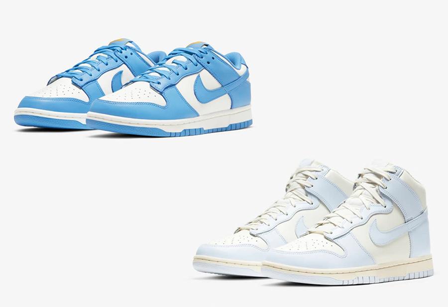 Dunk,Nike,发售  北卡蓝市场价超 3K!今早两双 Dunk 你中了吗?