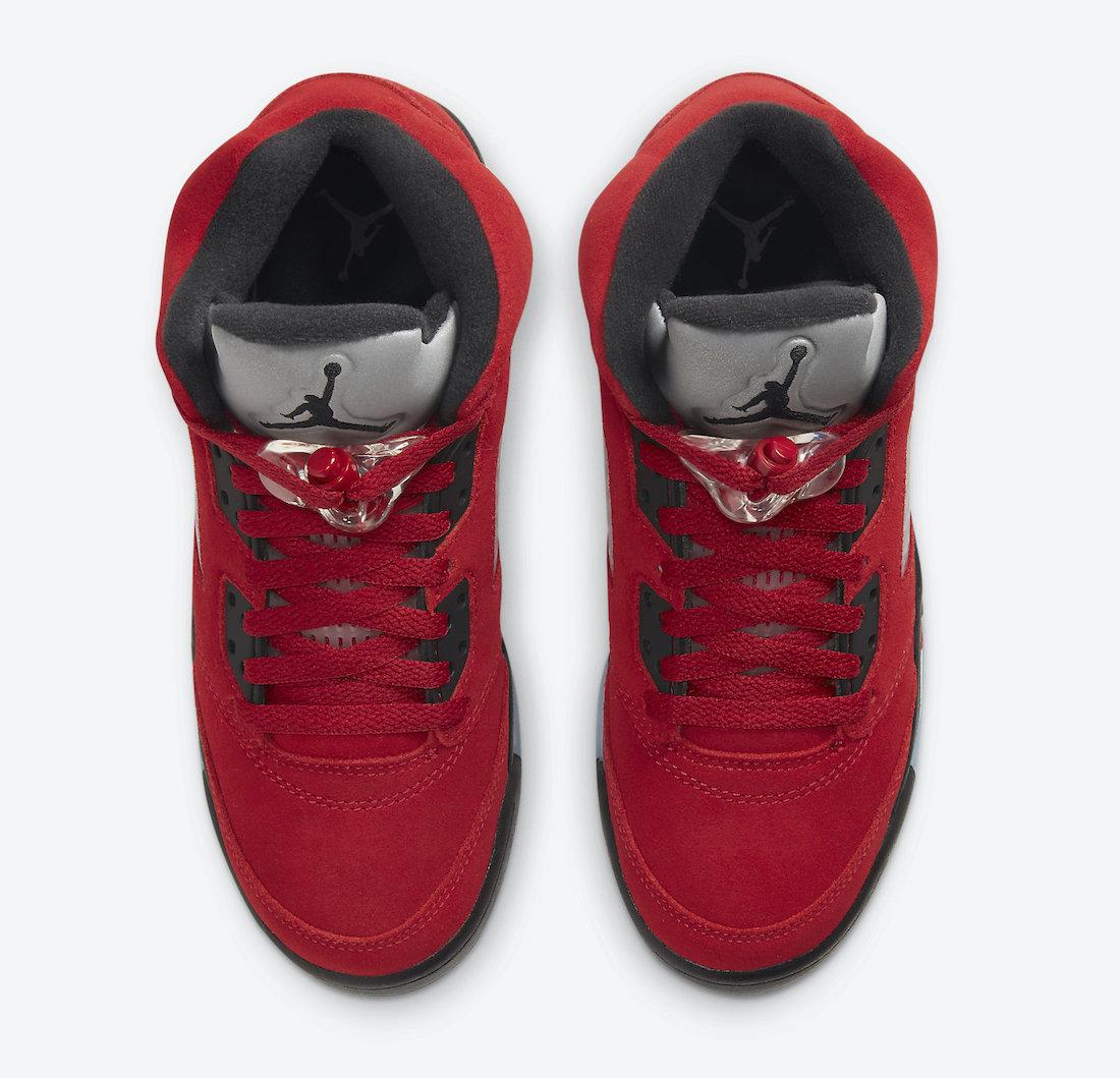 "《愤怒的公牛Air Jordan 5 ""Raging Bull"" 货号:DD0587-600》"