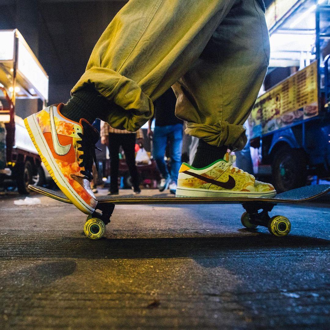 "《Nike 「中国美食」SB Dunk Low ""Street Hawker"" 货号:CV1628-800》"