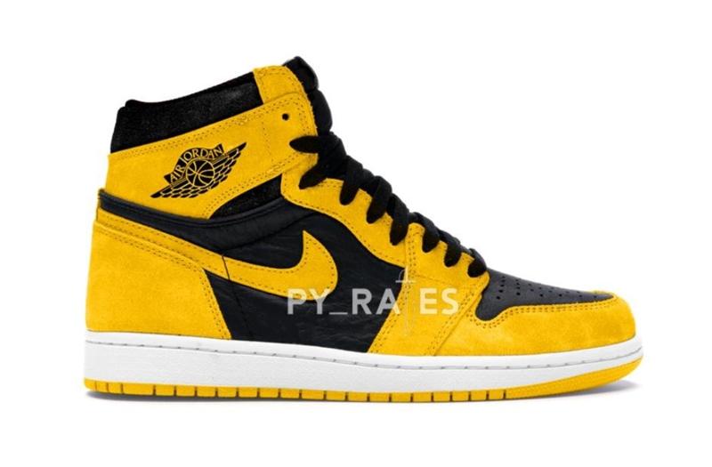 """《经典黑黄造型Air Jordan 1 High OG """"Pollen"""" 货号:555088-701》"""