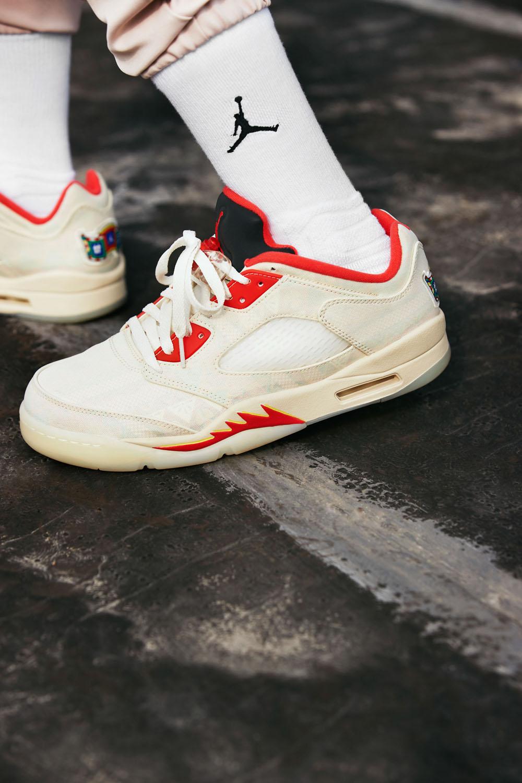 AJ5,Air Jordan 5 Low,CNY,发售  春节新鞋有着落了!刮刮乐 AJ5 Low CNY 官网上架!