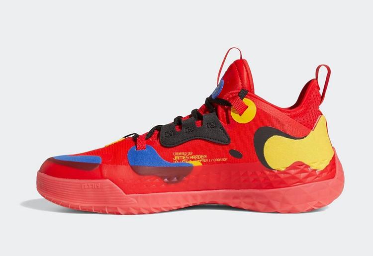 adidas,Harden Vol. 5,McDonald'  经典红黄配色方案!麦当劳 Harden Vol. 5 即将正式发售!